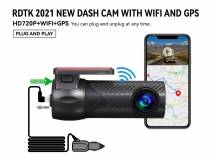 A201 HD DASHCAM with WiFi and GPS