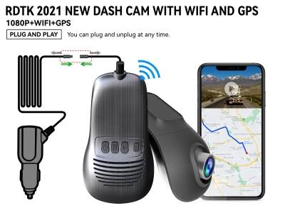 A200 1080P FHD DASHCAM with GPS  and WiFi