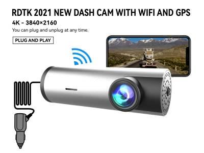 A208 4K UHD DASHCAM with WiFi