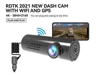 A206 4K UHD DASHCAM with WiFi