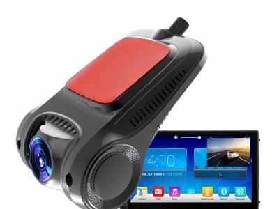 金蝎座T1大屏机USB专用隐藏式行车记录仪