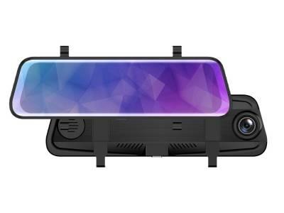 阿帝泰前后双FHD1080P全屏9.66寸流媒体后视镜记录仪