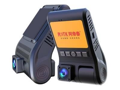 RDTK阿帝泰A600一机双镜带2.0寸屏出租车网约车专用监控记录仪