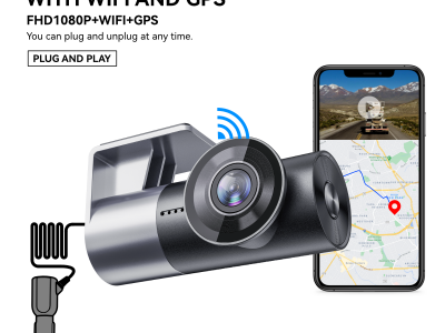 A209 1080P FHD DASHCAM with WiFi and GPS APP